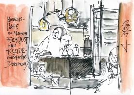 Café im MKK von Guido Wessel