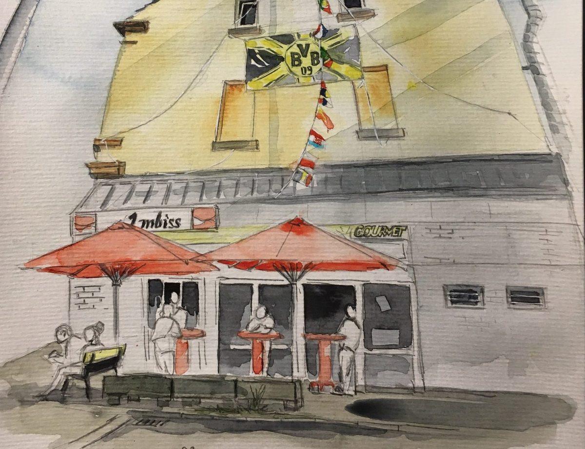 Urbans Sketchers: gezeichnete Momente aus Dortmund